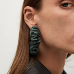 Quilted earrings | MANGO (US)