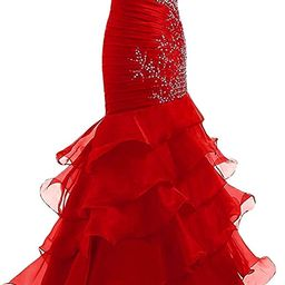 Lily Wedding Womens Beaded Sweetheart Mermaid Prom Dresses 2020 Long Formal Evening Ball Gowns wi... | Amazon (US)