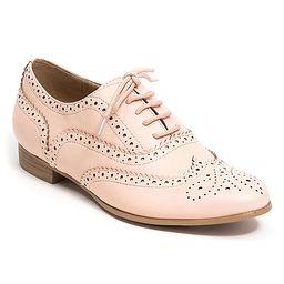 French Blu Women's Oxfords PINK - Pink Laury Sneaker - Women   Zulily