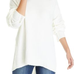 Women's Drop Shoulder Sleeve Mock Neck Sweater   Belk