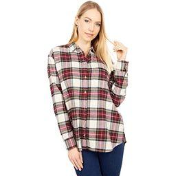 Oversized Ex-Boyfriend Shirt in Plaid | Zappos