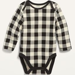 Unisex Printed Long-Sleeve Bodysuit for Baby | Old Navy (US)