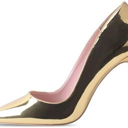 Elisabet Tang High Heels, Women Pumps Shoes 10cm/4 inch Pointed Toe Heels Stiletto Sexy Prom Club... | Amazon (US)