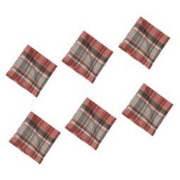 C&F Home Saffron Plaid Napkin Set of 6   Target