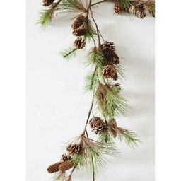 1PK Artificial Outdoor Fake Ming Pine and Cone Garland - 45 | Walmart (US)