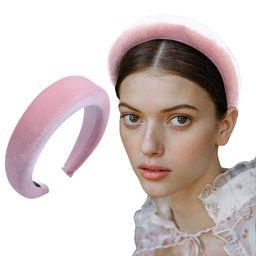 Thick Velvet Women Headbands 90s Hair Accessories Head Band Fashion Headwear Wide Plastic Hairban...   Amazon (US)