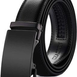 Chaoren Leather Ratchet Dress Belt 1 3/8 with Automatic Slide Belt, Click Adjustable Trim to Fit ...   Amazon (US)