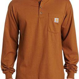 Carhartt Men's Workwear Pocket Henley Shirt (Regular and Big & Tall Sizes)   Amazon (US)