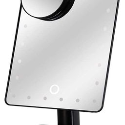 Waneway 12-Inch Screen Makeup Mirror with 24 LED Lights, Lighted Vanity Dressing Table Mirror wit... | Amazon (US)