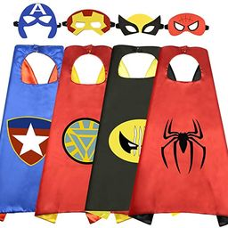 Roko Toys for 3-10 Year Old Boys, Superhero Capes for Kids 3-10 Year Old Boy Gifts Boys Cartoon D... | Amazon (US)