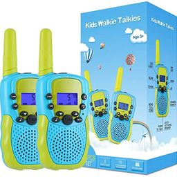 Selieve Toys for 3-12 Year Old Boys, Walkie Talkies for Kids 22 Channels 2 Way Radio Toy with Bac... | Amazon (US)