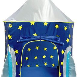 USA Toyz Rocket Ship Play Tent for Kids - Indoor Pop Up Playhouse Tent for Boys and Girls with In... | Amazon (US)