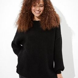 AE Oversized Dreamspun Crew Neck Sweater | American Eagle Outfitters (US & CA)