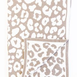 Keep You Warm Blanket Beige Animal Print | The Pink Lily Boutique