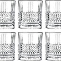 Tumbler Glass - Double Old Fashioned - Set of 6 Glasses - Designed DOF tumblers - For Whiskey - B...   Amazon (US)
