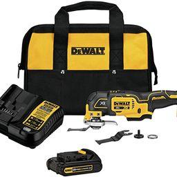 DEWALT 20V MAX XR Oscillating Tool Kit, 3-Speed (DCS356C1)   Amazon (US)