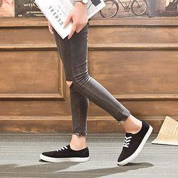ZGR Women's Canvas Shoes Fashion Low Cut Loafer Sneakers   Amazon (US)