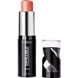 L'Oreal Paris Makeup Infallible Longwear Blush Shaping Stick, Up to 24hr Wear, Buildable Cream Bl... | Amazon (US)