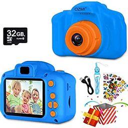 OZMI Upgrade Kids Selfie Camera, Christmas Birthday Gifts for Boys Age 3-12, Children Digital Cam... | Amazon (US)