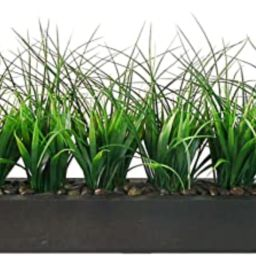 Vintage Home Green Grass in Contemporary Wood Planter-VHA100056 Fake Plant   Amazon (US)