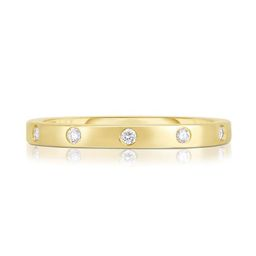 Inlay Diamond Ring | Ring Concierge