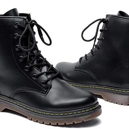 Adokoo Womens Ankle Boots Booties Combat Boots   Amazon (US)