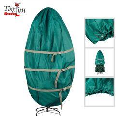 Tiny Tim Totes | Premium Upright Christmas Tree Canvas Storage Cover Bag | 7.5 FT | Green - Walma... | Walmart (US)