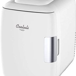 Cooluli Mini Fridge Electric Cooler and Warmer (4 Liter / 6 Can): AC/DC Portable Thermoelectric S... | Amazon (US)