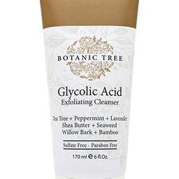 Botanic Tree Glycolic Acid Face Wash-Facial Exfoliating Cleanser w/ 10% Glycolic Acid-Acne Facial... | Amazon (US)