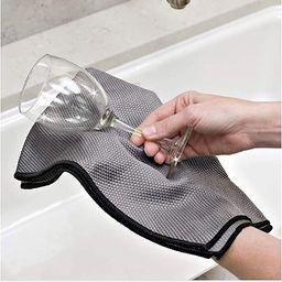 The Original Magic Glass Drying Towel | Amazon (US)