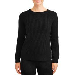 Time and Tru Women's Cozy Sweater | Walmart (US)