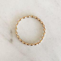 THE OVAL BRACELET - GOLD   Stylin by Aylin