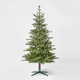 5.5ft Unlit Artificial Christmas Tree Green Indexed Balsam Fir - Wondershop™   Target