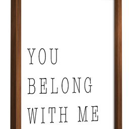 You Belong with me By PTM Images   Walmart (US)