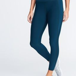 High-Waisted Elevate Built-In Sculpt 7/8-Length Compression Leggings For Women | Old Navy (US)