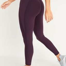High-Waisted Elevate Built-In Sculpt 7/8-Length Compression Leggings For Women   Old Navy (US)