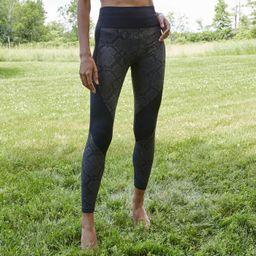 Women's High-Waisted Seamless Snakeskin Jacquard 7/8 Leggings - JoyLab™ | Target