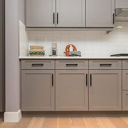 Ravinte 50 Pack   5'' Cabinet Pulls Matte Black Stainless Steel Kitchen Drawer Pulls Cabinet Hand...   Amazon (US)
