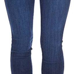 Vibrant Women's Juniors Button Fly Super High Waist Skinnys | Amazon (US)