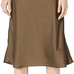 The Drop Women's Maya Silky Slip Skirt   Amazon (US)