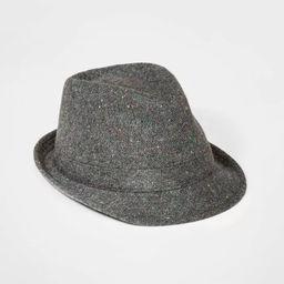 Boys' Woven Fedora Hat - Cat & Jack™ Gray | Target