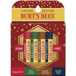Burt's Bees Limited Edition Lip Balm, Moisturizing, 4 Count | Walmart (US)