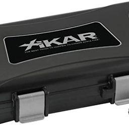 Xikar Cigar Travel Humidor, Extreme Protection, Rugged, Travel Case for 5 Cigars, Airtight, Water...   Amazon (US)