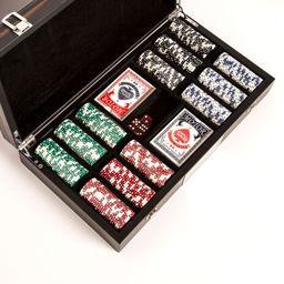 "Brouk & Co. ""Matte Ebony"" 300-Chip Poker Set | Ross-Simons"