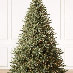 Balsam Hill 7.5ft Premium Pre-Lit Artificial Christmas Tree Classic Blue Spruce with Clear Incand...   Amazon (US)