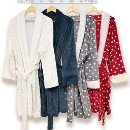 Martha Stewart Collection Plush Bath Robe, Created for Macy's & Reviews - Macy's   Macys (US)