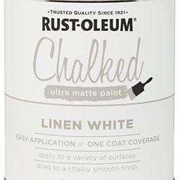Rust-Oleum 285140 Ultra Matte Interior Chalked Paint 30 oz, 30oz Can, Linen White   Amazon (US)