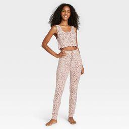 Women's Animal Print Tank Top and Joggers Pajama Set - Colsie™ | Target