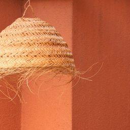Wicker pendant light  round lampshade rattan light hanging | Etsy | Etsy (CAD)