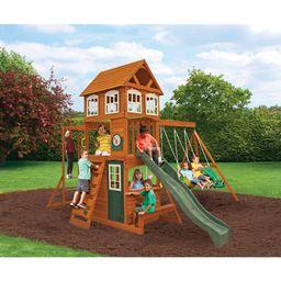 Cranbrook Wooden Swing Set | Walmart (US)